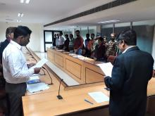 Pledge Ceremony on Constitutional Day (26th November 2019)